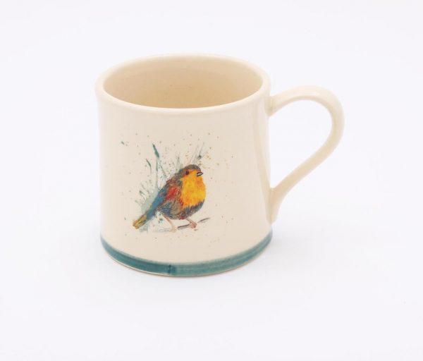 Highland Bird Mug