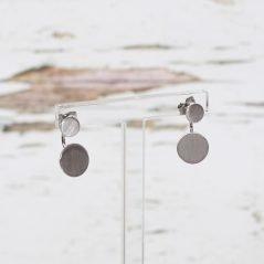 Iris Circle Earrings T&G