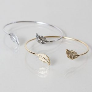 Leaf Bangle Tilly & Grace