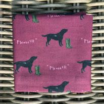 Handkerchief black lab JR Interiors