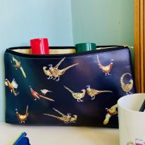 pheasants wash bag JR Interiors